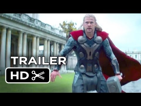 Thor: The Dark World Official Trailer #2 (2013) - Chris Hemsworth Movie HD