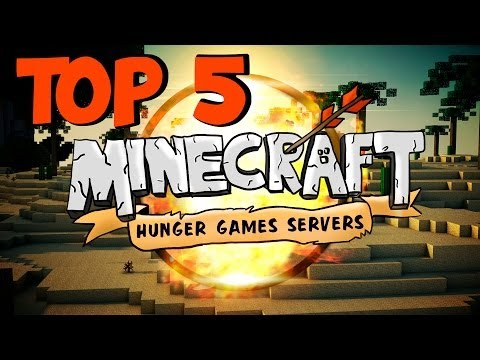 Top 5 Best Minecraft Hunger Games Servers (1.7.9) - 2014