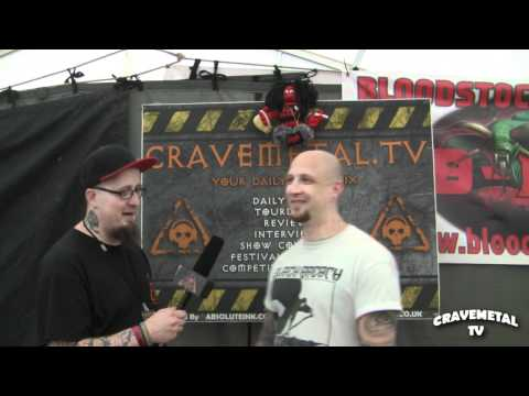 THE ROTTED interview at Bloodstock Festival 2011 CRAVEMETALTV