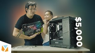 How to build a $5000 Workstation/Gaming PC - Episode 2 (PC Build Tutorial)
