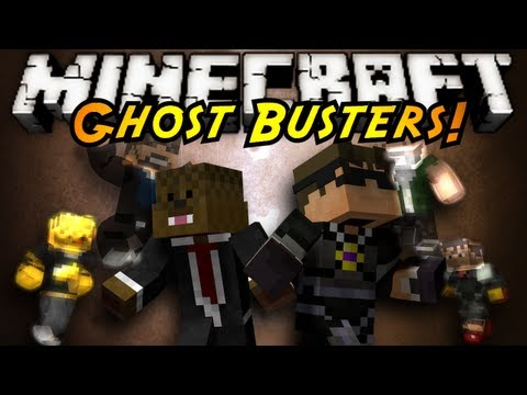 Minecraft Mini-Game : GHOST BUSTERS! – 2MineCraft.com