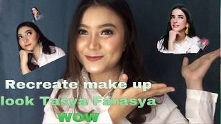 Recreate make up look Tasya Farasya WOW #MulaiAjaDulu #CantikItuGampang #TokopediaBeautyDEALight