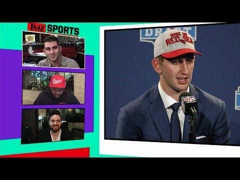 Josh Rosen's Advice to Jewish Athletes, 'Keep Grinding'   TMZ Sports