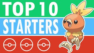 Top 10 Favorite Starter Pokemon