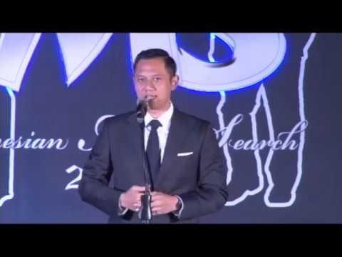 INDONESIAN MODEL SEARCH 2017  Pidato AGUS HARIMURTI YUDHOYONO (Tamu Kehormatan)