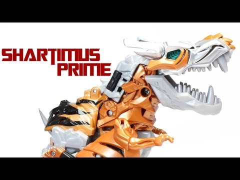 Transformers 4 Age of Extinction Grimlock Voyager Class Movie Action Figure Review