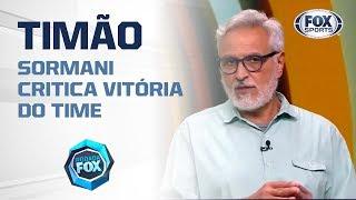'DEVERIA TER FEITO O QUE O FLAMENGO FEZ COM O GOIÁS': Sormani critica vitória do Corinthians