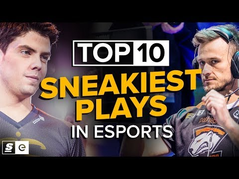 The Top 10 Sneakiest Plays in Esports