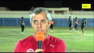 Can 2015 | Alain Giresse: ''Y a plus qu'à attendre l'heure du match''