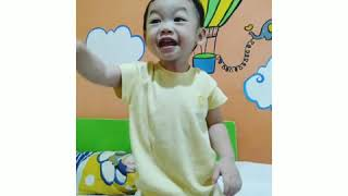 Funny Baby at small apartemen