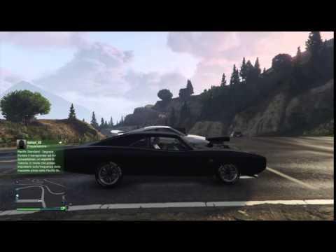 Fast & Furious 7- Tributo a Paul Walker-GTA 5 PS4