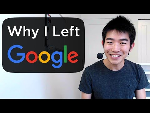 Why I Left My 100 000 Job At Google
