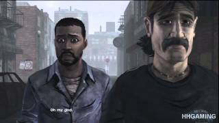 The Walking Dead Game - episode 4 Alternate scenes Alternative choices part 1 of 2 Evil Walkthrough