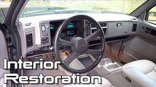 Bringing a 26 Year Old SUV Interior Back To Life: Jimmy Resto Ep.15