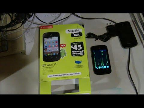 ZTE Whirl 2 Z667G Full Review & Hacks straighttalk Net10 MVJ EP 221