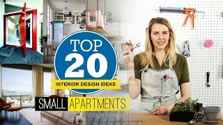 20 Interior Design idea for Small Apartment