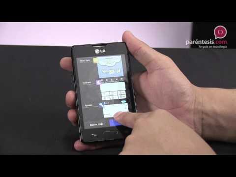 Celular LG Optimus L4X (E440)