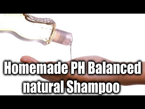 (DIY) PH Balanced Homemade Natural SHAMPOO Recipe +