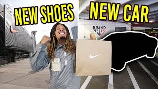 THESE SOLD OUT !!! COPPING SOLD OUT SNEAKERS AND A NEW CAR !!! MALL VLOG