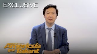 Ken Jeong Is Filled With Pure Joy After Hitting His Golden Buzzer - America's Got Talent 2018