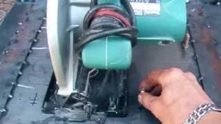 Рейсмус с электрорубанка своими руками