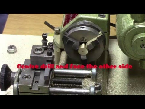 Making a ROTARY STEAM VALVE on the EMCO UNIMAT SL Lathe