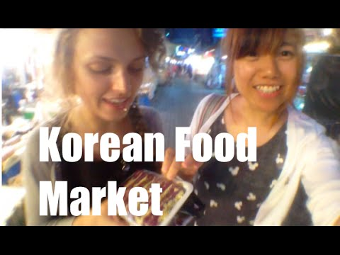 Korean Organic Food Market   Nakseongdae, Seoul