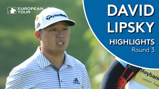 David Lipsky Highlights | Round 3 | 2019 Maybank Championship