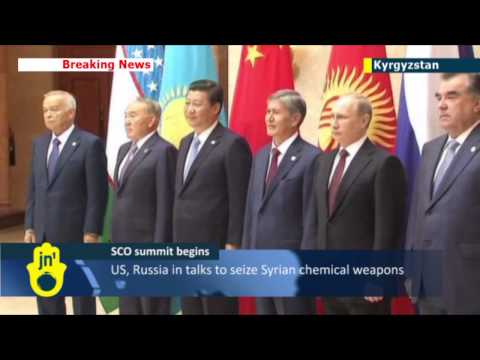 SCO summit: Russian, Chinese leaders arrive at summit where Syria crisis tops agenda