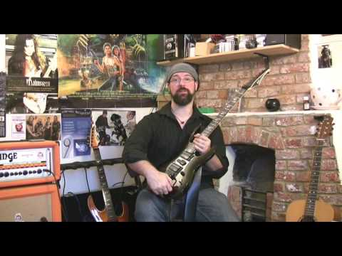 LAG Arkane A200ST - Electric guitar review