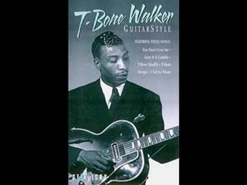 """Roots of Blues -- T-Bone Walker""""T-Bone Blues"""