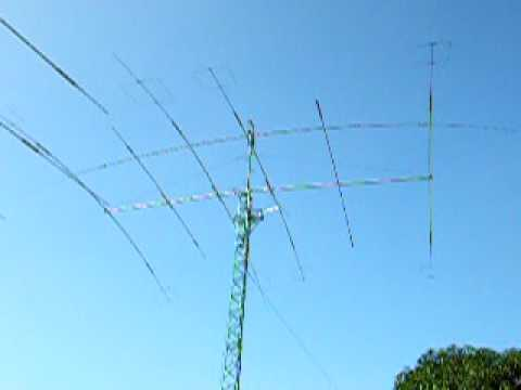 DU1EV antennas April 2009