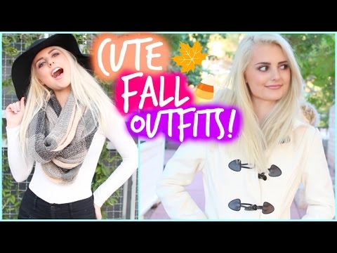 Cozy & Cute Fall Outfit Ideas! | Aspyn Ovard