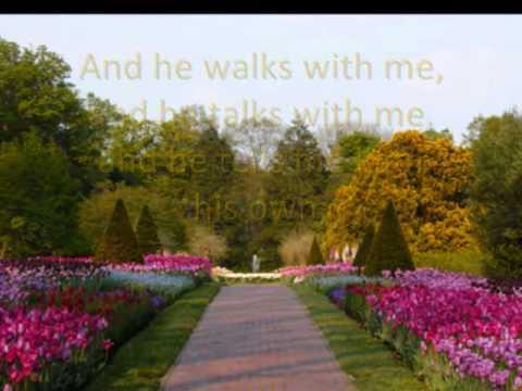 In The Garden (Hymns with lyrics)