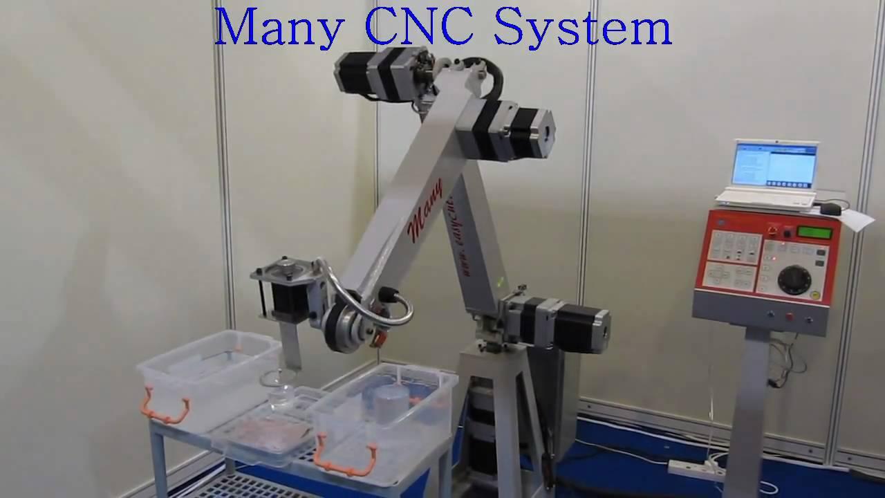 Robotic Arm Construction 5 Axis Robot Arm