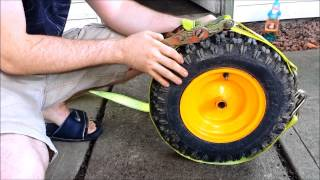 Inflate Tire WITHOUT ETHER