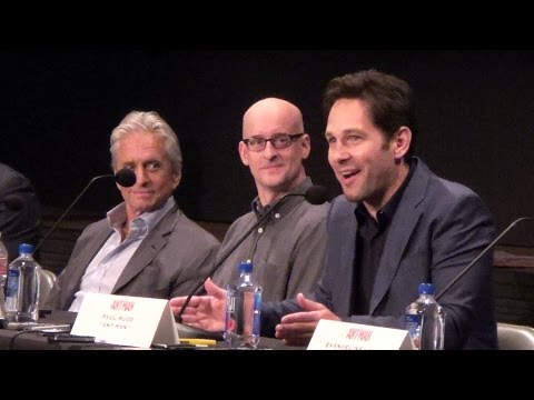 FULL Marvel Ant-Man Burbank Press Conference w/ Paul Rudd, Michael Douglas, Peyton Reed, Cast