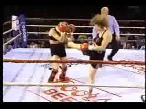 Kathy Long Fights - Kickboxing and Boxing Highlight Reel Image 1