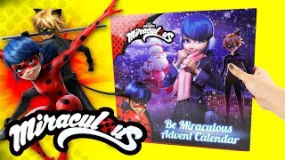 Miraculous Ladybug Christmas Advent Calendar with Surprises