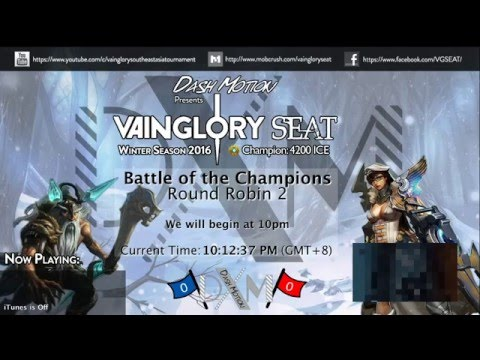 Vainglory SEAT: Winter Season 2016: Round Robin 2: Suit and Tie (STie) vs Zantetsuken (ZtK)