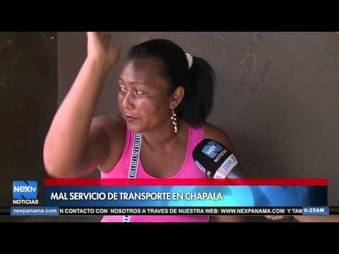 mal servicio de transporte en Chapala