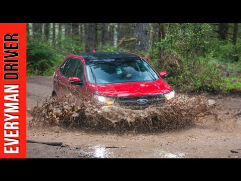 2015 Ford Edge Sport AWD Off-Road Test Drive on Everyman Driver
