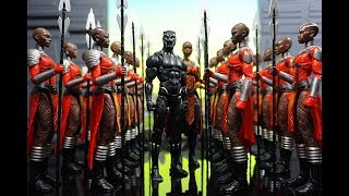 Epic Hasbro Marvel Legends Black Panther Dora Milaje Army Building Display, Join ACBA & MORE!