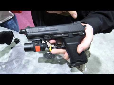 Heckler & Koch 45C Compact Tactical Pistol