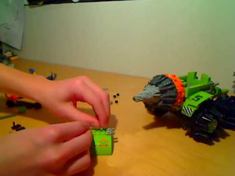 Building Lego Power Miners Thunder Driller