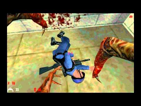 Half Life 1:Zombie Mod №2(Хэдкрабовое счастье=3!)
