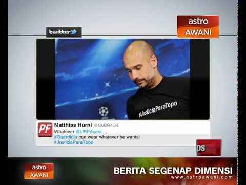 Pep Guardiola berdepan tindakan akibat #JusticeParaTopo