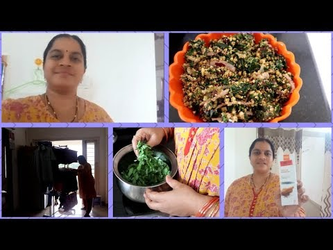 EVENING TIME HEALTHY RECIPE||DRUMSTICK LEAVES FRY||VLCC PRODUCTS||RAMA SWEET HOME
