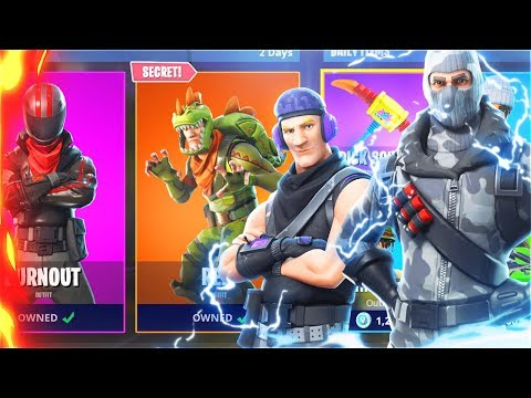 New SECRET Skins! How To Get NEW FREE SKINS In Fortnite Battle Royale! (New Fortnite Skins Update)
