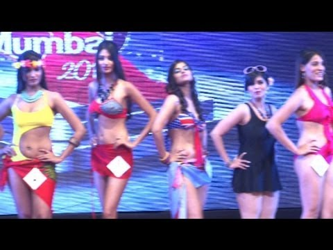 Sexiest Bikini Round At Perfect Miss Mumbai 2014 video